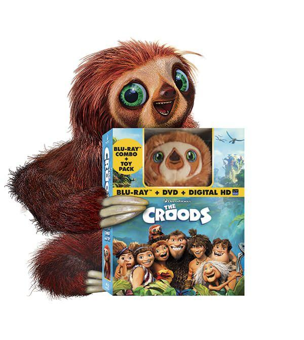 Exclusive Croodaceous First Look at 'The Croods' on Blu
