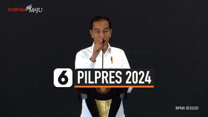 VIDEO: Jokowi Singgung Penggantinya di Depan Sandiaga Uno