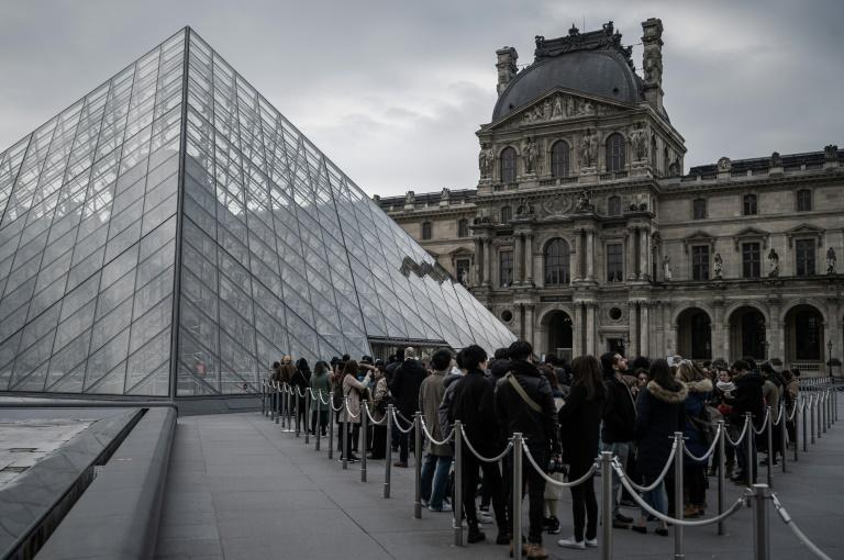 The Louvre museum had 9.6 million visitors last year