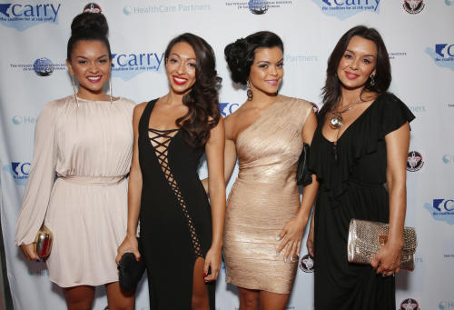 "FILE - In this May 11, 2013 file photo released by the CARRY Foundation, The Lylas attend the CARRY Foundation's 7th Annual ""Shall We Dance"" Gala at The Beverly Hilton Hotel in Beverly Hills, Calif. The Lylas is one of a new crop of girl groups currently on the music scene. (AP Photo/CARRY Foundation, Todd Williamson, File)"