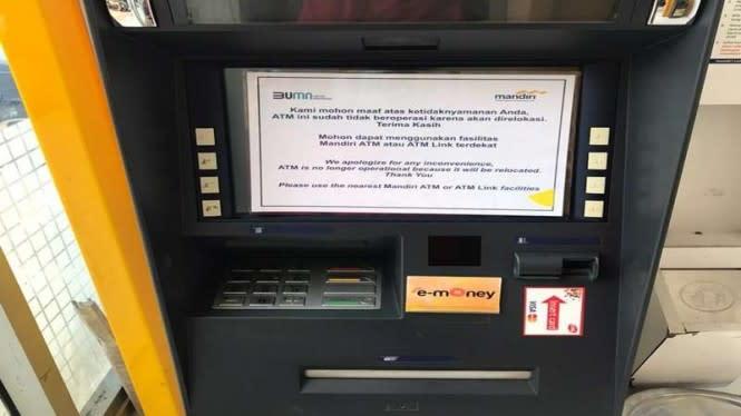 Viral ATM-nya Tidak Bisa Digunakan, Bank Mandiri Ungkap Alasannya
