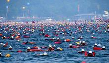 萬人「勇渡」日月潭9/27確定開游!衛生局:2萬人名單先過濾 下水前後均需戴口罩