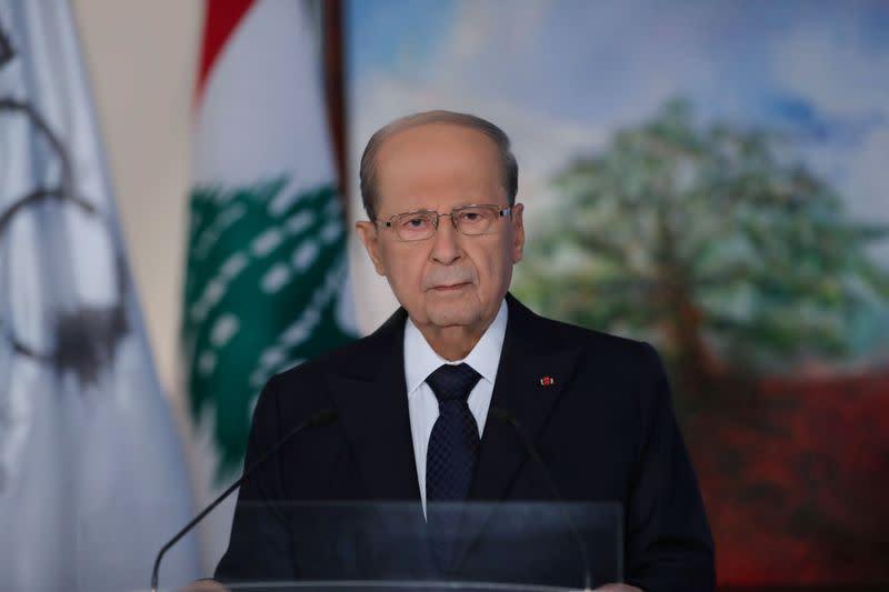 Lebanon's president postpones talks on nominating new prime minister