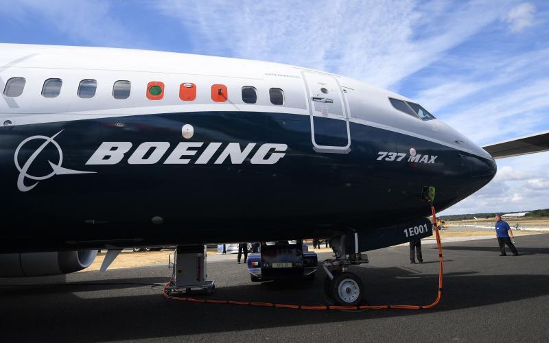 Boeing 737 Max - ANDY RAIN/EPA-EFE/REX