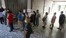 現場直擊》高雄市長補選選民上午大排長龍 趁下午大雷雨前完成投票