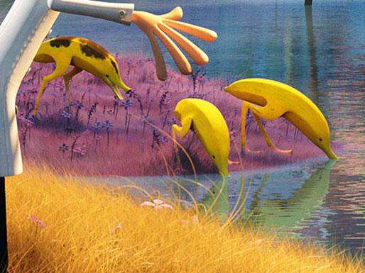 Behold, The Adorbs 'Food-imals' Of 'Cloudy With A Chance Of Meatballs 2'