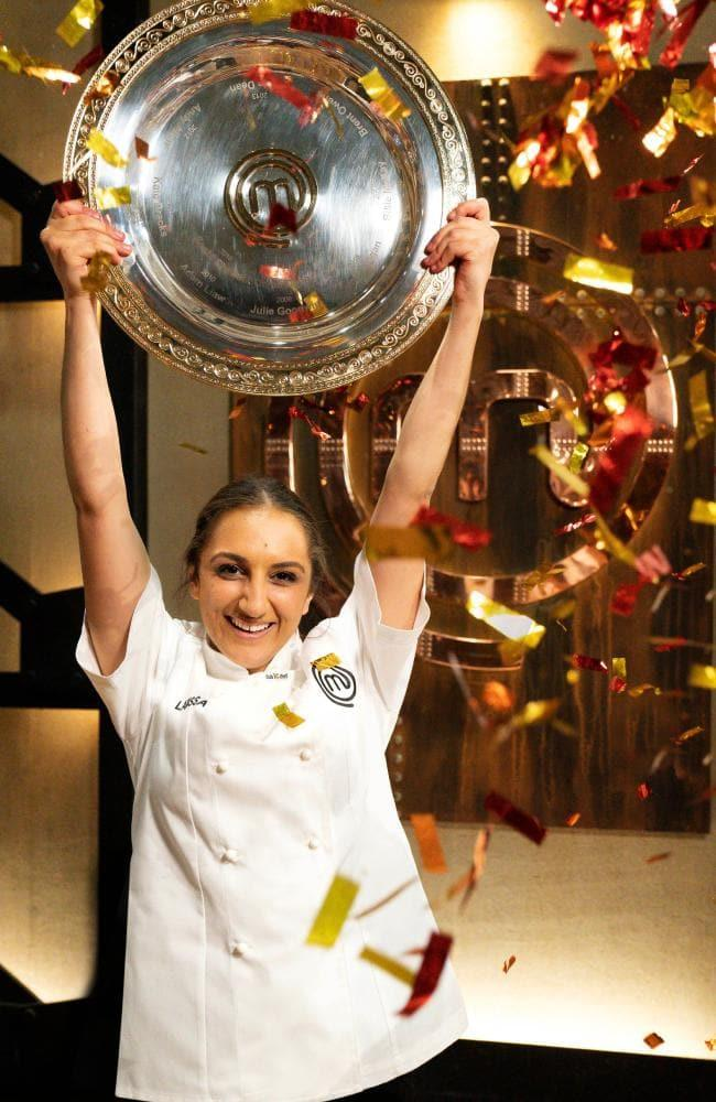 Larissa, 22, is now the youngest winner in the show's history. Photo: Network 10