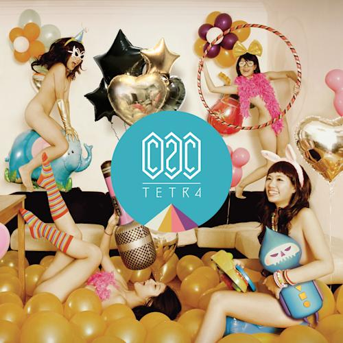"This CD cover image released by Universal Republic Records shows ""Tetra,"" by C2C. (AP Photo/Universal Republic Records)"