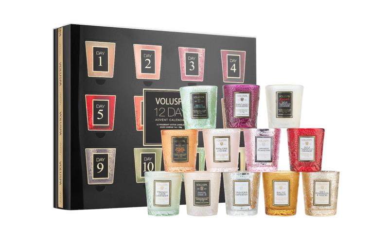 Voluspa Advent Calendar Mini Candle Set. Image via Sephora.