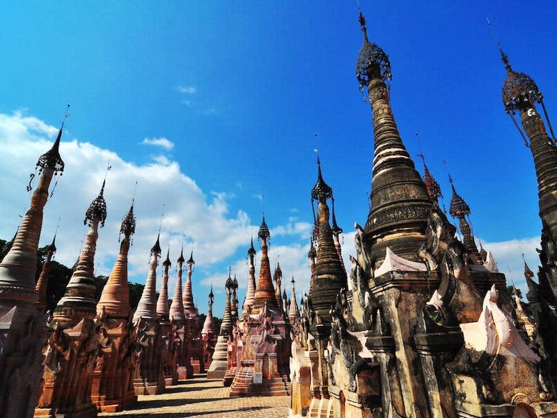 緬甸卡古佛塔塔林