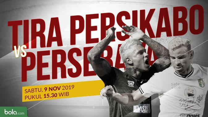 Live Streaming Eksklusif Shopee Liga 1 2019 Tira Persikabo Vs Persebaya di Vidio