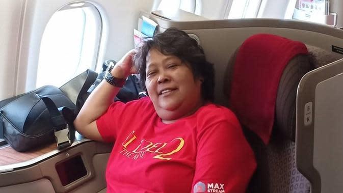 Suti Karno dirawat di Rumah Sakit Puri Cinere akibat diabetes. (Sumber: Instagram/@sutykarno)
