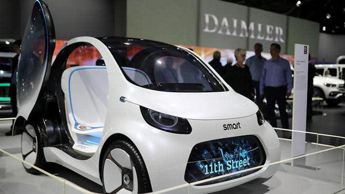 Kembangkan Smart Listrik, Mercy Gandeng Pabrikan Tiongkok