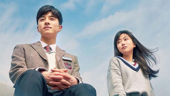 ilustrasi drama korea bertema sekolah/netflix