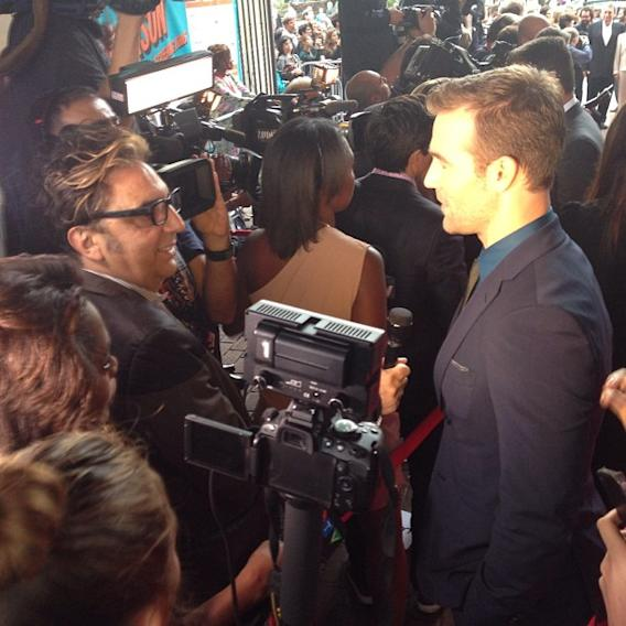 James Van Der Beek's #TIFF13 Instagram Takeover