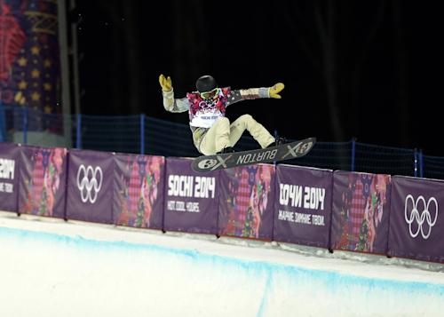 White falls to the I-Pod in Olympic stunner