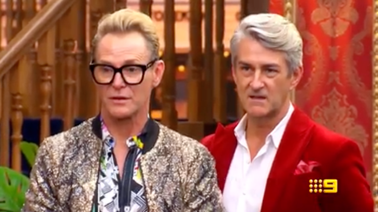 The Block contestants Mitch and Mark. Photo: Channel Nine