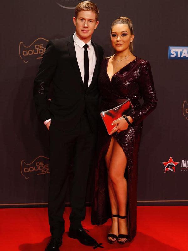Bintang Manchester City Kevin De Bruyne dengan istrinya, Michele Lacroix. (foto: https://www.instagram.com/lacroixmichele)