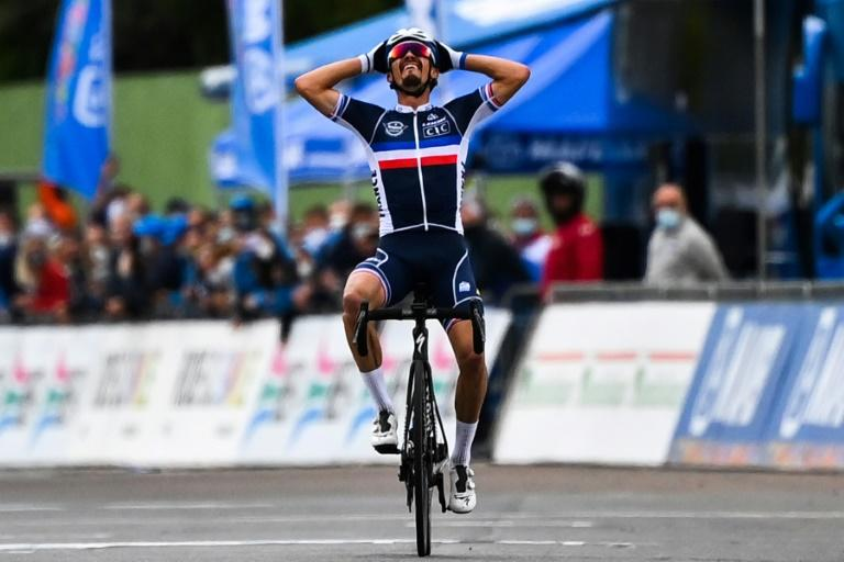 Alaphilippe and Hirschi head thinned Liege-Bastogne-Liege field