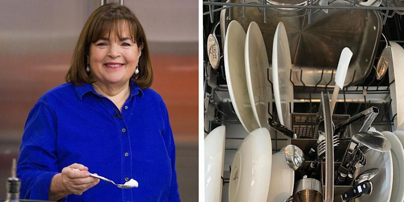 Forget Everything You Thought You Knew About Dishwashers. Ina Garten Has Spoken.