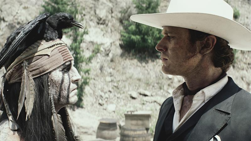 'Lone Ranger' a Train Wreck While 'Despicable Me 2′ Shines for Explosive Fourth