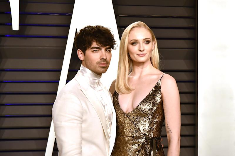 Joe Jonas and Sophie Turner married in Las Vegas following the Billboard Music Awards. Photo: Getty Images