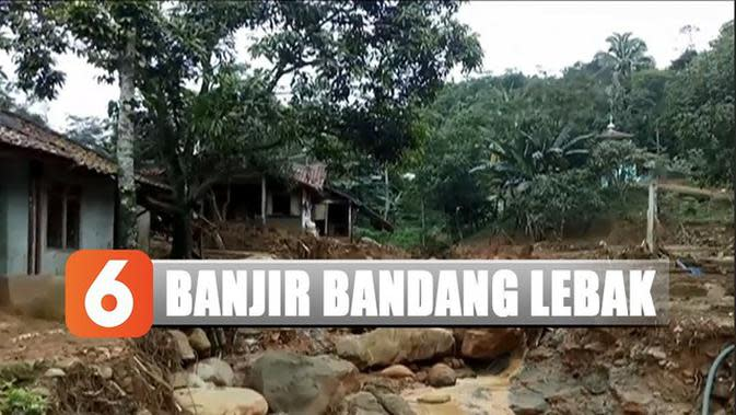 2 RT di Lebak Banten Hilang Usai Diterjang Banjir Bandang