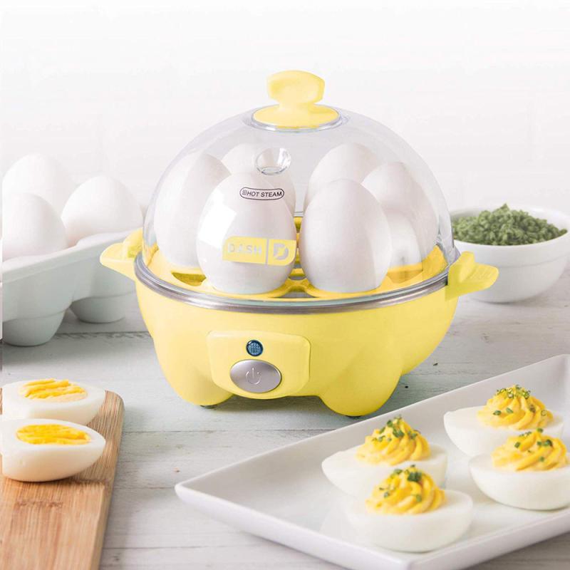 Dash Deluxe Rapid 6 Egg Cooker in Yellow (Photo: Amazon)