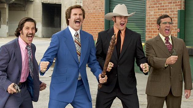 "Steve Carell's character will ""devolve"" in 'Anchorman 2′"