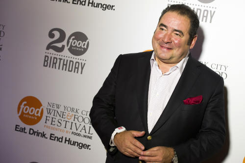 Emeril Lagasse attends the Food Network's 20th birthday party on Thursday, Oct. 17, 2013, in New York. (Photo by Charles Sykes/Invision/AP)