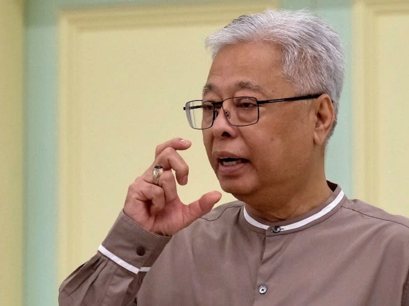 Senior Minister Datuk Seri Ismail Sabri Yaakob said that the wedding was in breach of the standard operating procedure set by the National Security Council on the resumption of religious activities. — Bernama pic