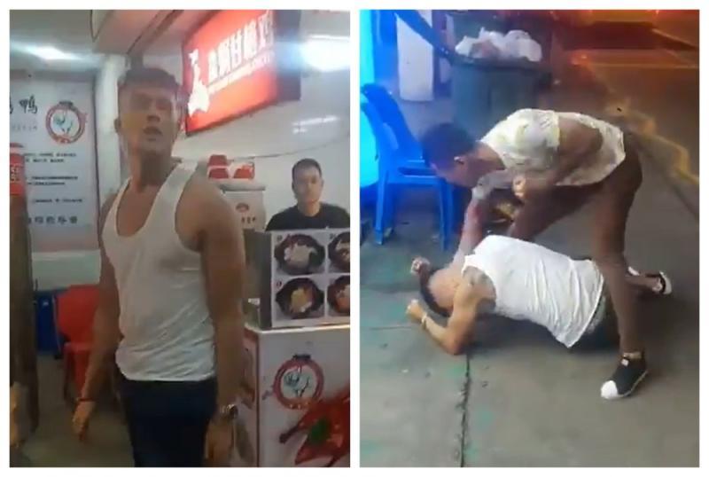 Singaporean Actor Singer Aliff Aziz Repeatedly Beaten In Latest