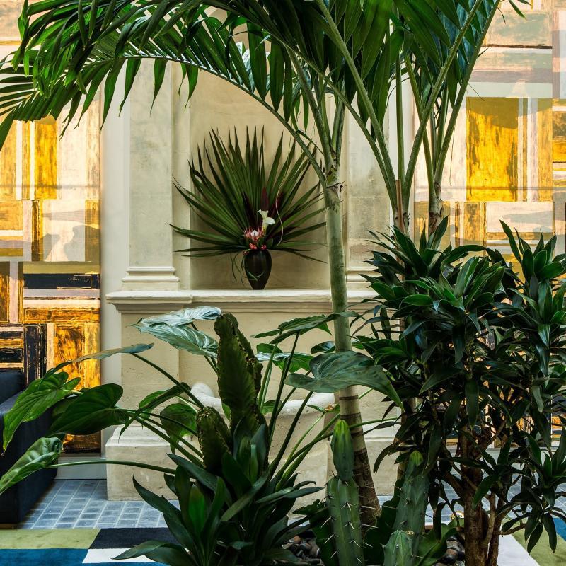 The lobby at Fauchon L'Hotel - Gilles Trillard