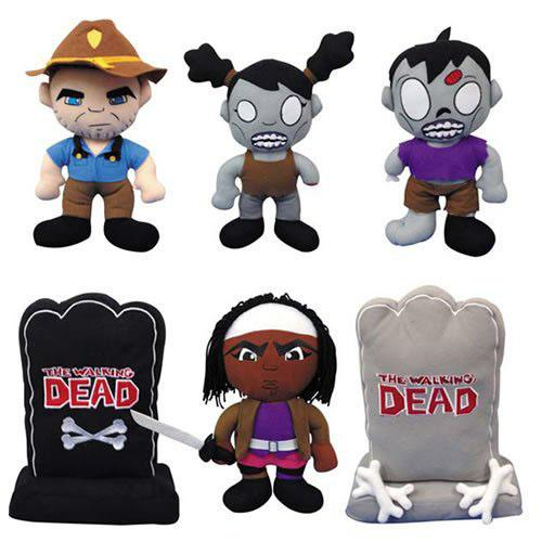 """The Walking Dead"" Plush Figures"