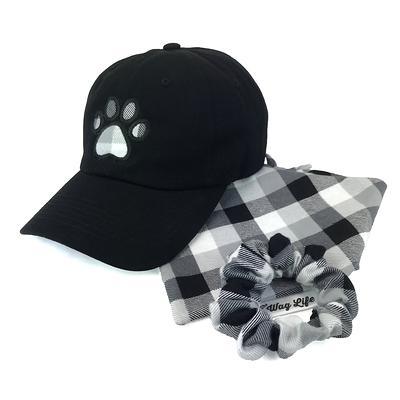Tie over Pet bandana /& hair accesories set dog gift matching set dog and owner gift set DOG lover gift DOG BANDANA Cotton scrunchies
