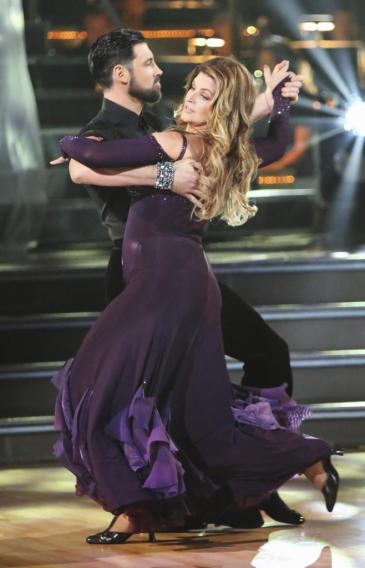Maksim Chmerkovskiy and Kirstie Alley (9/24/12)
