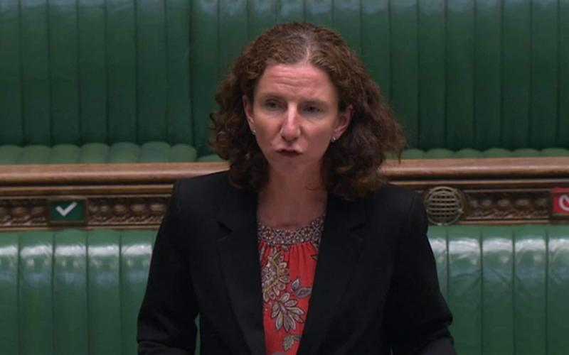 Labour Shadow Chancellor Anneliese Dodds - PA