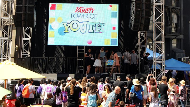Variety's POWER OF YOUTH Celebration Kicks Off Today at Universal Studios