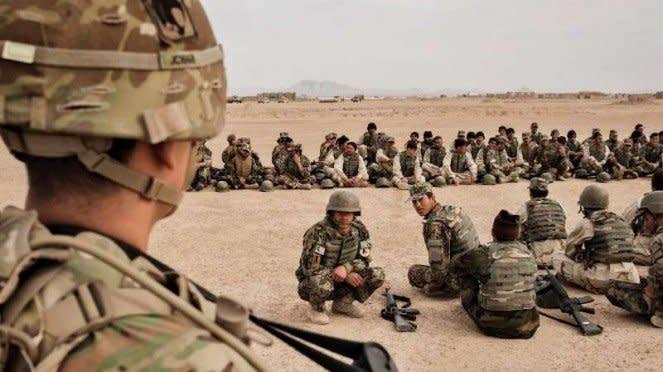 VIVA Militer: Pasukan Amerika Serikat (AS) di Afghanistan