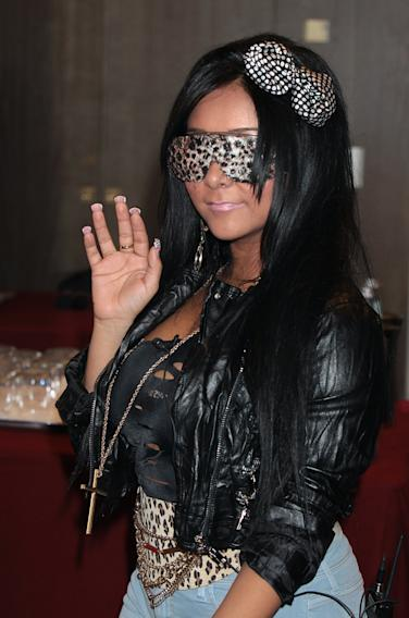 Jersey Shore Photocall In Florence