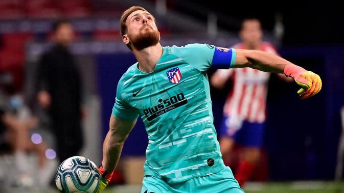 Kiper Atletico Madrid, Jan Oblak. (AFP/Javier Soriano)