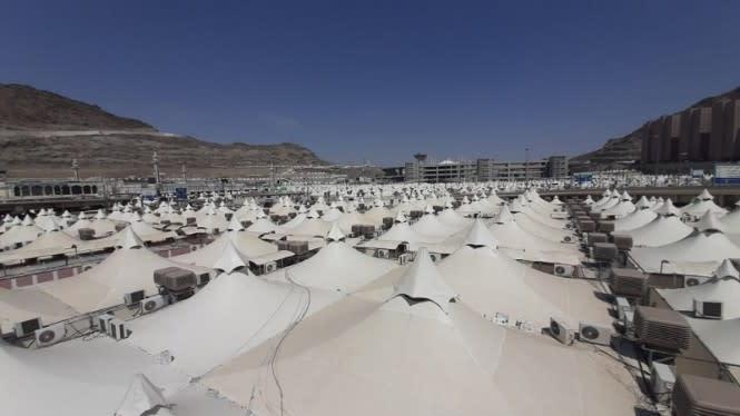 Prosesi Haji 2020 Dimulai, 1.000 Jemaah Berkumpul di Mina