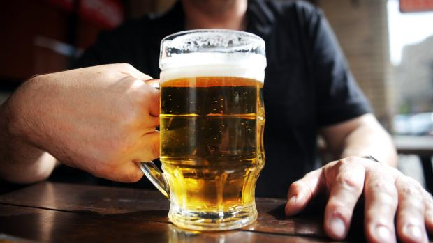 Several restaurant and bar owners say prohibiting the sale of alcohol entirely will not reduce the number of accidents caused by drink driving. — AFP pic