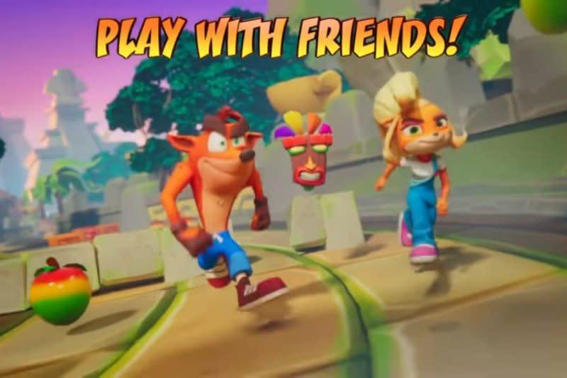"Game ""Crash Bandicoot: On The Run!"" akan hadir di Android & iOS"