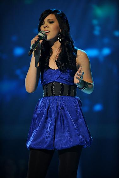 """Mishavonna Henson performs """"Drops of Jupiter (Tell Me)"""" by Train on """"American Idol."""""""