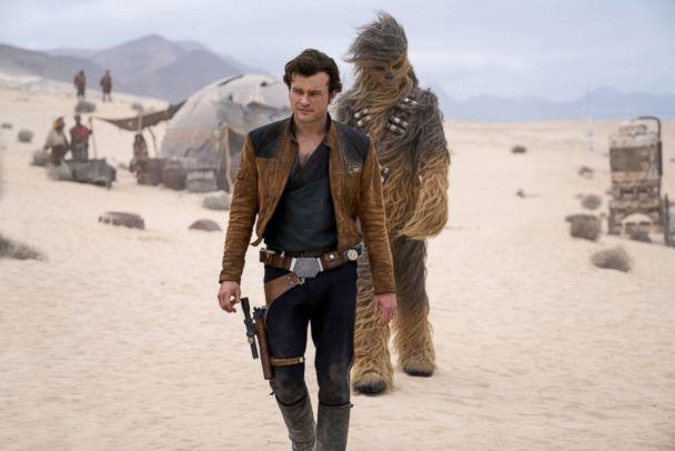 PHOTO: Alden Ehrenreich in a scene from 'Solo: A Star Wars Story.' (Walt Disney Studios)