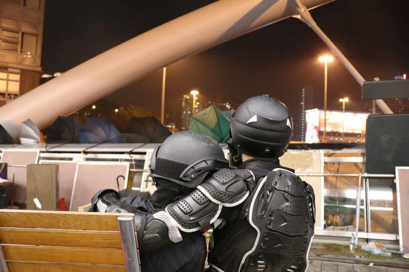 """Mengulik kampus yang menjadi """"lokasi pertempuran"""" aksi unjuk rasa Hong Kong"""