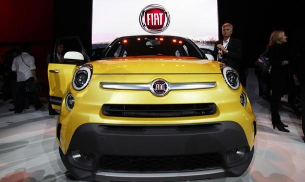 2014 Fiat 500L makes the small wagon into an Italian job