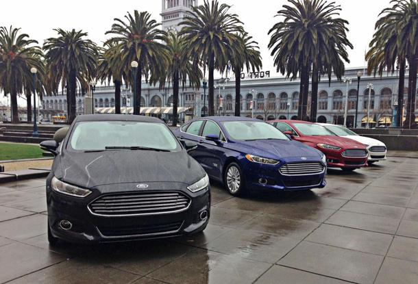 2013 Ford Fusion Hybrid and Energi, the hybrids you actually want: Motoramic Drives