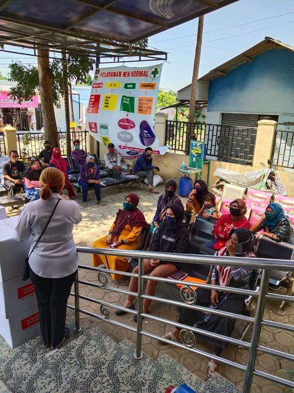Program edukasi kebersihan kepada masyarakat Indonesia yang didanai oleh pemerintah Inggris. (Source: Save The Children)
